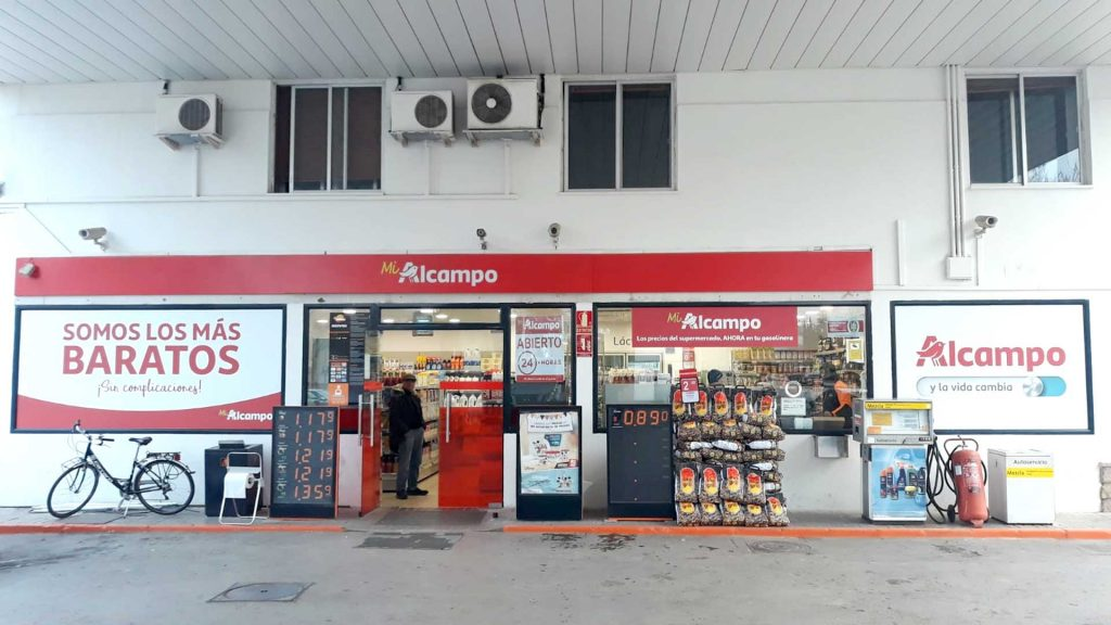 Atenoil Valdepenas Repsol Casco Urbano Exterior Alcampo Supermercado 1
