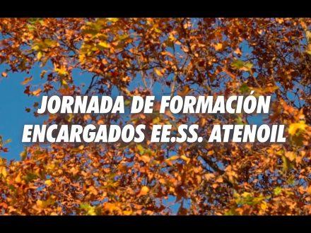 JORNADA DE FORMACIÓN ENCARGADOS EE.SS
