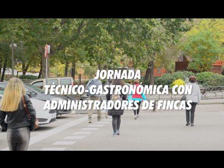 JORNADA TECNICO GASTRONOMICA CON ADMINISTRADORES DE FINCAS 1